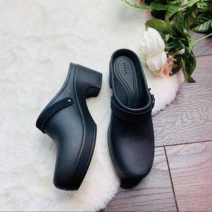 Crocs Sarah Slip On Heel Clog